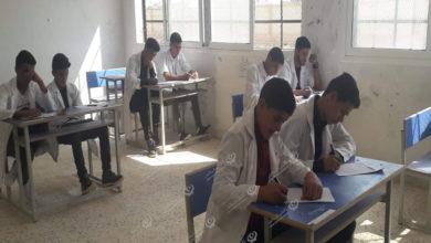 Photo of بدء الامتحانات الدراسية لطلبة هذا العام في بلدية قمينس