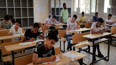 Photo of امتحانات الشهادة الإعدادية بمدينة اجدابيا
