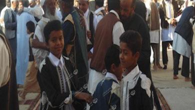 Photo of صلاة وأجواء العيد في مزدة