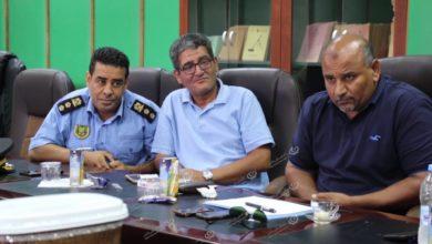Photo of اجتماع أمنى بشأن ضبط الهجرة غير الشرعية بطبرق