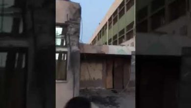 Photo of قذيفة تسقط على مدرسة ابي الأشهر بتاجوراء