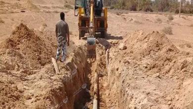 Photo of الانتهاء من صيانة خط المياه في القرية الغربية