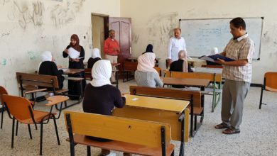 Photo of انطلاق امتحانات الشهادة الثانوية باجدابيا