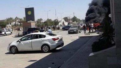 Photo of مركز بنغازي الطبي يستلم جثتين نتيجة انفجار سيارة مفخخة بمنطقة الهواري