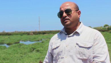 Photo of تلوث بيئي في بحيرة (عين زيانة)