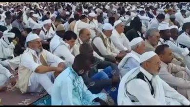 Photo of صلاة العيد في الساحة الرئيسية بمدينة زوارة