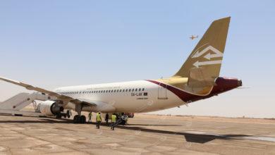 Photo of أول رحلة تجارية تهبط في مطار سبها الدولي بعد انقطاع 5 سنوات