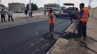 Photo of البدء في رصف أكثر من (30) كيلو متر في  اجدابيا