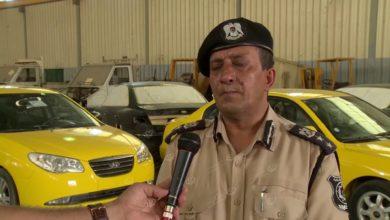Photo of مديرية أمن طرابلس تباشر طلاء سيارات الركوبة العامة (التاكسي) باللون الأصفر