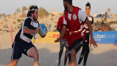 Photo of مباراة للرقبي وحملة نظافة على شاطئ الزويتينة