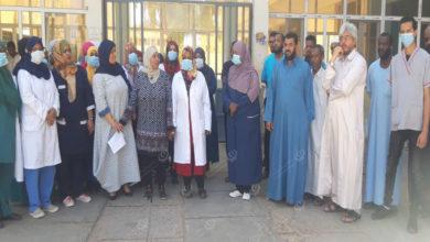 Photo of العاملون بمركز سبها الطبي يعلقون الخدمات الطبية غير الطارئة إحتجاجا على إطلاق نار على المشرف الإداري