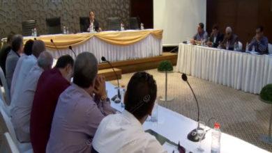 Photo of اجتماع موسع لرئيس الهيئة العامة للشباب والرياضة