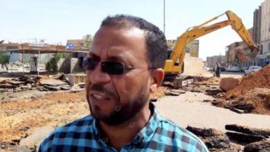 Photo of البدء في صيانة خط الصرف الصحي المنهار بجوار مراقبة تعليم سبها