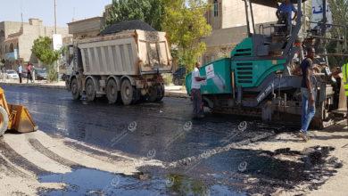 Photo of اجدابيا.. تواصل مشروع صيانة ورصف الشوارع