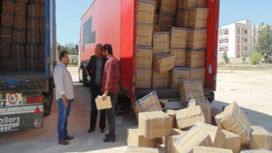 Photo of وصول شحنة من الإمدادات الطبية لاجدابيا