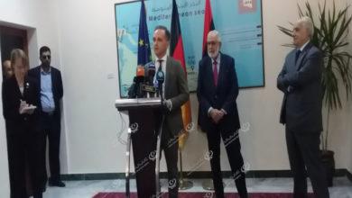 Photo of تصريح صحفي في ختام اجتماع رئيس المجلس الرئاسي مع وزير الخارجية الألماني