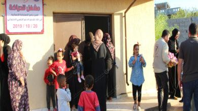 Photo of افتتاح مشغل خياطة للعائلات النازحة بمقر شركة المقطورات في تاجوراء