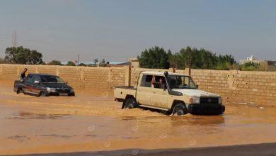 Photo of أضرار مادية بسبب هطول الأمطار في طبرق
