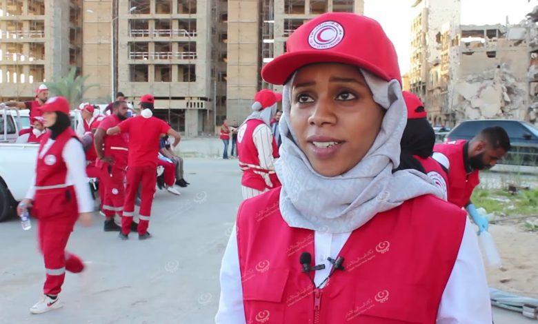 Photo of محاكاة جمعية الهلال الأحمر الليبي بنغازي