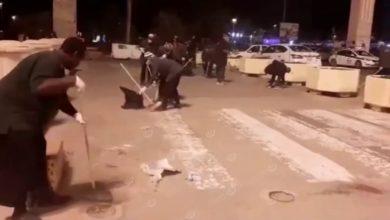 Photo of تنظيف ميدان الشهداء إستعداد للاحتفال بالذكرى(55) ليوم الشرطة الليبية