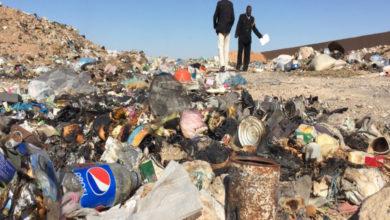 Photo of حصر مكاب النفايات ببلدية درج والعمل على معالجة مشكلة انتشارها