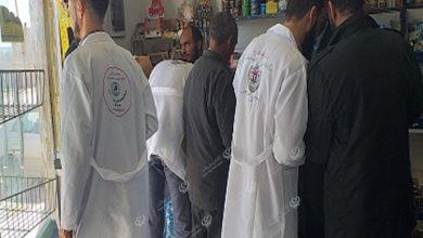 Photo of مركز الرقابة على الأغذية مكتب مزدة يقوم بجولة على محلات المواد الغذائية بالمدينة