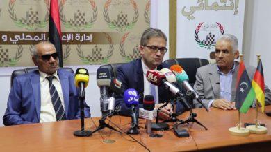 Photo of السفير الألمانى لدي ليبيا يزور طبرق و يعقد مؤتمر صحفي