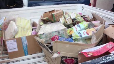 Photo of حملة تفتيشية لجهاز الحرس البلدي على محلات المواد الغذائية في بني وليد