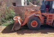 Photo of إزالة العشوائيات في بلدية بني وليد