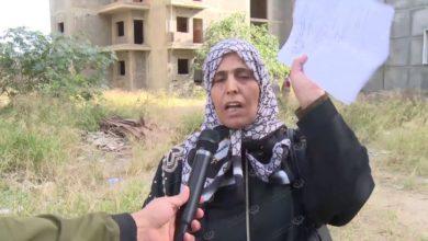 Photo of عدد من العائلات النازحة تتخذ من شقق غير مكتملة البناء ملاذ لها