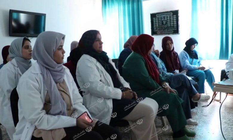 Photo of محاضرة حول استخدام حقنة (البابال) بقسم النساء والولادة بطبرق