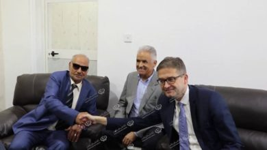 Photo of السفير الألمانى لدى ليبيا يزور  المجلس البلدي طبرق