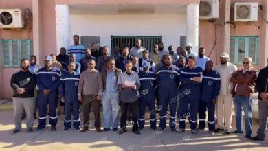 Photo of عمال شركة الكهرباء سبها يطالبون بالمستحقات المالية لموظفي الجنوب