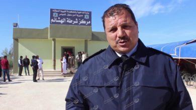 Photo of افتتاح مركز شرطة (الهشائم) التابع لمديرية أمن سلوق قمينس