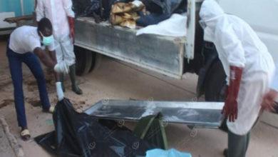 Photo of انتشال جثتين مجهولة الهوية بالقرب من طريق النهر بمدينة بني وليد