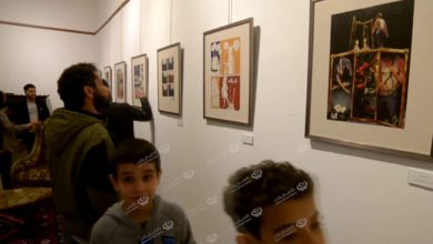 Photo of معرض للفنون البصرية (كاريكاتير- كوميك) في بيت إسكندر للفنون