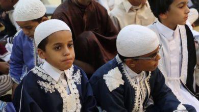Photo of خلوة المسجد العتيق بمدينة إجخرة تحتفل بختم اثنان من طلابها للقرآن الكريم كاملاً