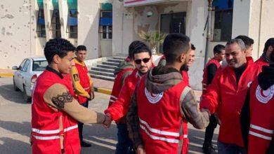 Photo of الأمين العام للهلال الأحمر الليبي يزور مدينة سرت