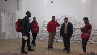 Photo of فريق غرفة الطوارئ للهلال الأحمر الليبي يتفقد فروع المنطقة الغربية