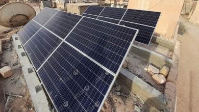Photo of تركيب ألواح للطاقة الشمسية في نسمة