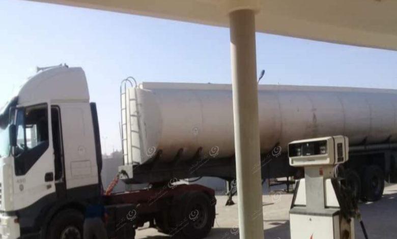 Photo of شحنات من الوقود تصل إلى مدينة بني وليد
