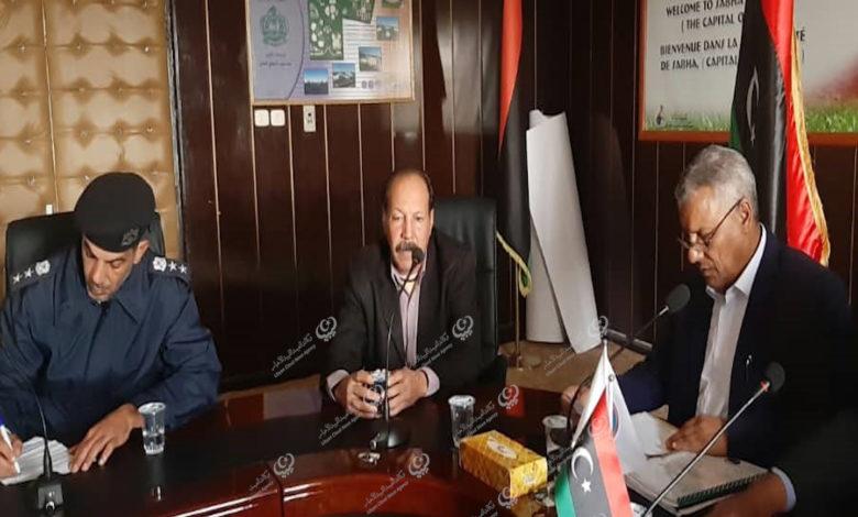 Photo of اجتماع ببلدي سبها حول الوضع الأمني وحصر العمالة الوافدة بالمدينة