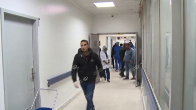 Photo of متابعة لحالة المصابين من طلبة الكلية العسكرية والإسعاف بمستشفى الخضراء