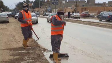 Photo of التعاقد على نظافة شوارع مدينة قمينس