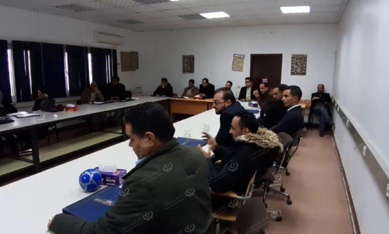 Photo of دورة تدريبية لرفع كفاءة الموظفون بالقطاعات الحكومية في مدينة بني وليد