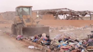 Photo of حملة لإزالة المكبات العشوائية في بني وليد