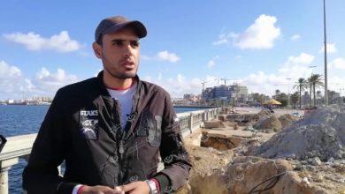 Photo of بلدية طرابلس المركز تباشر أعمال صيانة ممشى ودرابزين (الكورنيش)