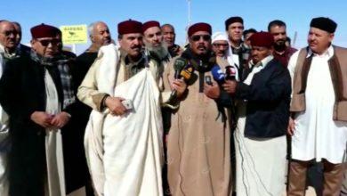 Photo of بيان (المجلس الأعلي لقبيلة ازوية) بشأن إغلاق الحقول النفطية بمنطقة الواحات