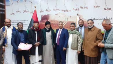 Photo of المجلس البلد المنتخب في سبها يستلم مهامه