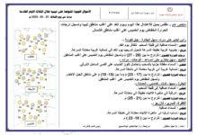 Photo of النشرة الجوية ليوم الثلاثاء الموافق 25 – 02 – 2020 الصادرة عن المركز الوطني للأرصاد الجوية